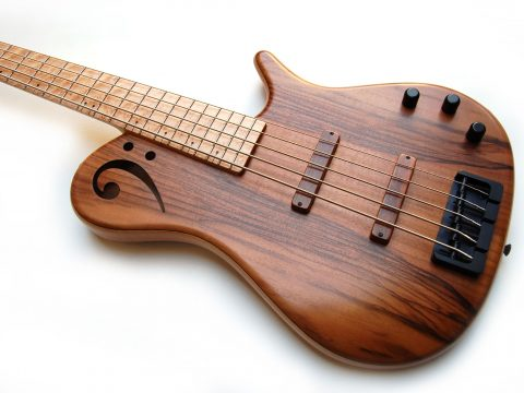 Proxima de sensi 5 strings walnut body